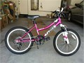 BCA MT20 Magenta Pink 20 6-speed terrain bicycle Bike with minimal use in near brand new condition