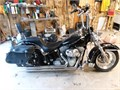 2001 Harley Davidson Softail in excellent condition runs like brand new with low mileage ape hange