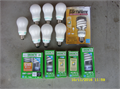 CFL bulbs 13-23 watt 10 for all  909-983-7427