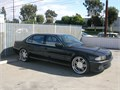 1995 bmw 750iL auto  54L V12 black on black 2nd owner 15 years needs nothing 22 wheels ac