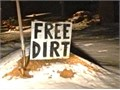 Free dirt  Must bring own equipments like digging machine or bobcat  I am planning to build drivew