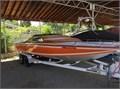 Sleekcraft 1978 Executive 23 daycruiser Mercury MCM 228 horsepower engine Great family boat perf