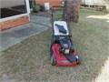 Toro 22 in cut Kohler High Wheel Variable Speed Gas Walk Behind Self Propelled Lawn Mower Rear disch