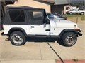 1991 Jeep Wrangler Used  completely Stock 40 six cylinder Runs great Only 82K miles on it No r