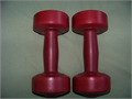 Bollinger One Pair dumbells 3 12 lbs each vinyl covered for women 1000 562-928-6957