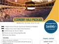 Dawn Travels is a reliable travel agency in regard to providing Economy Hajj Package from the US Pi