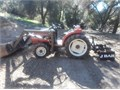 3 cylinder 25 horsepower diesel 4x4 front loader rear Gannon PTO runs great