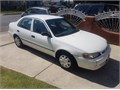 GAS SAVER99 TOYOTA COROLLA RUNS REALLY GOOD MILEAGE 194000NO ENGINE OR TRANSMISSION PROBLEM