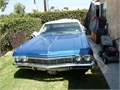 Selling my Beautiful 1965 CHEVE IMPALA its a 4 door with 350 horse power engine Blue with white t
