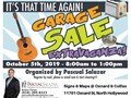 Community Garage Sale in North Hollywood Over 20 homes participating within a 12 Mile Radius Sign