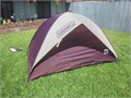 Coleman Ultralight Gear 2 man dome tent  5 x 76 x 48 tall GREAT CONDITION no pole sleeves to g
