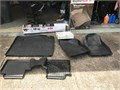 Like New WeatherTech Floormats front seats rear seats cargo bed liner and New Cargo Area Cover f