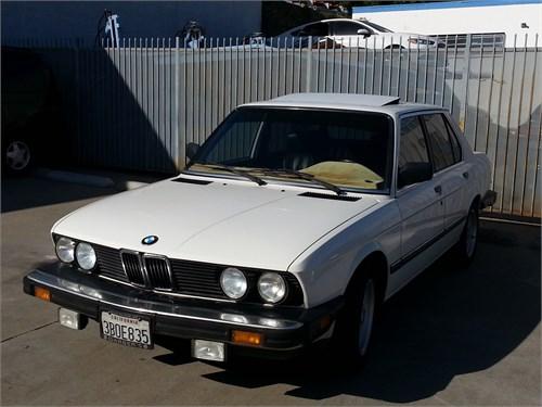 1988 BMW 535i (e28)