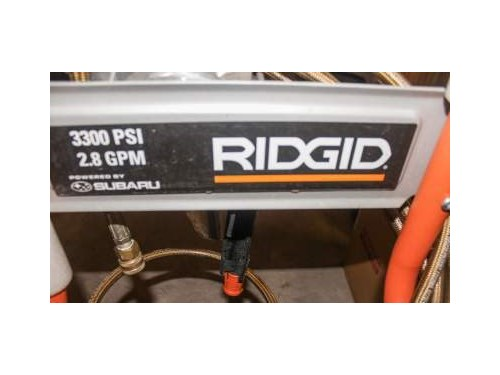 Riged Pressure Washer