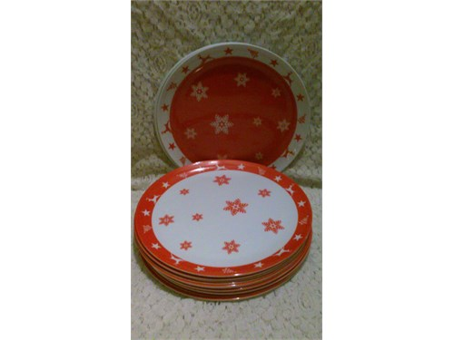 "Holiday 11"" Dinner Plates"