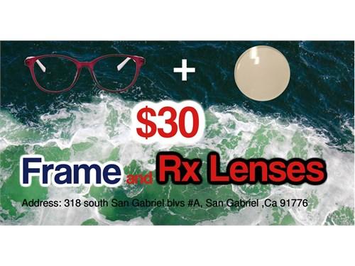 $30 prescription glasses