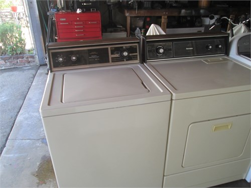 kenmore washer gas dryer