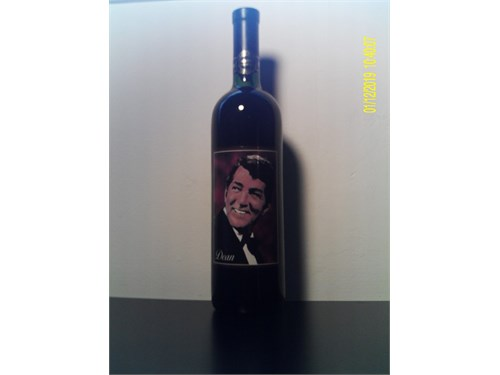 DEAN MARTIN WINE BOTTLE