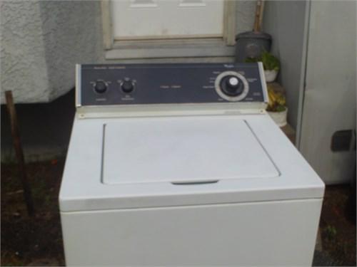 whirpool washer