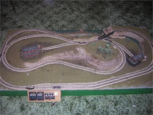 Model Train Layout N-Gaug