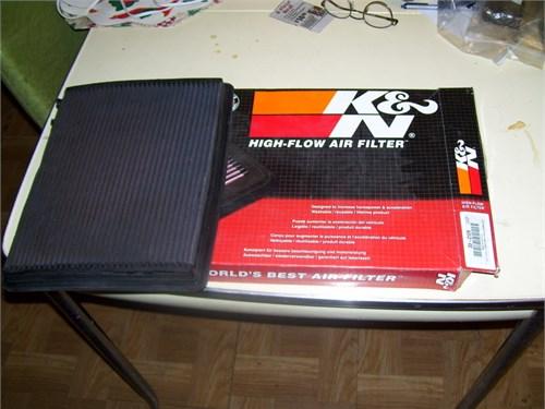 K&N air filter # 33-2129