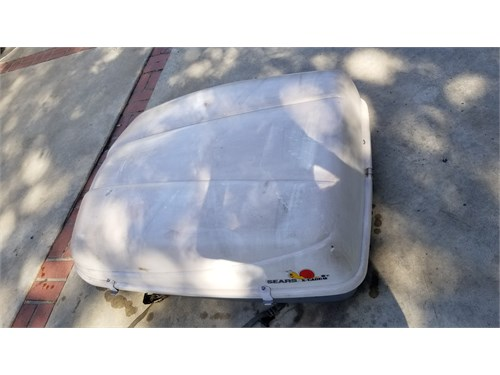 Roof cargo travel contain