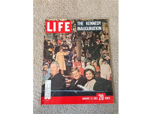 Life Magazine 1/27/1961