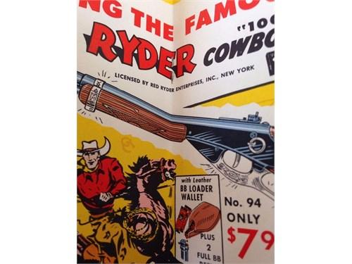 1955 Daisy Red Ryder Gun