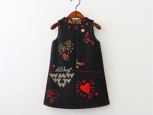 Toddler Girl Black Dress