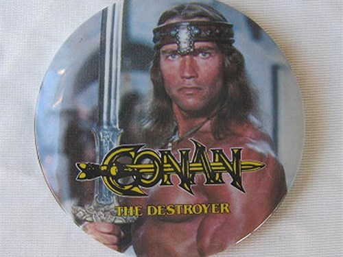 Conan the Destroyer Pin