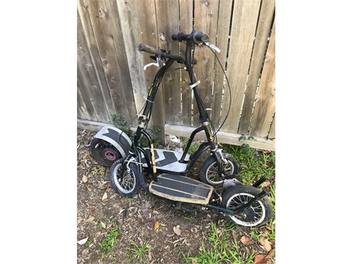 Currie electric scooters