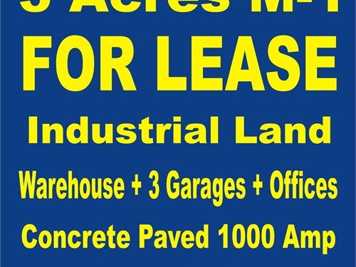 LAND INDUSTRIAL 4 LEASE M
