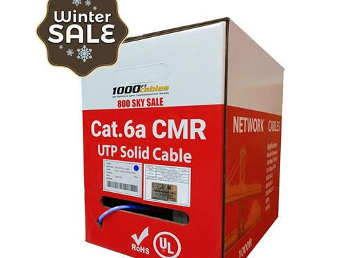 Cat6A Riser 1000FT UL