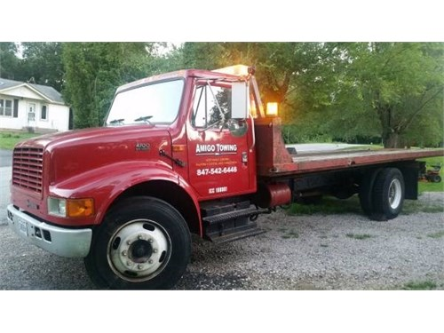 Flatbed Towing- NW Suburb