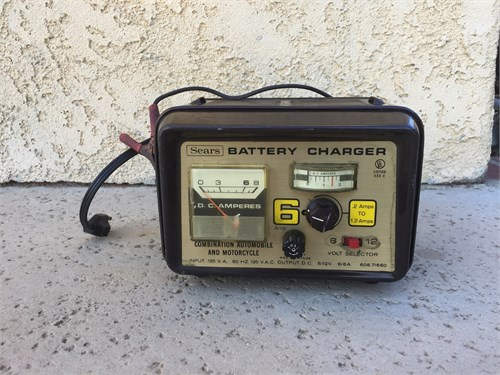 Battery Charger $25