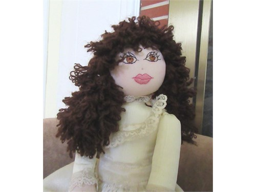 Hand-made Rag Doll