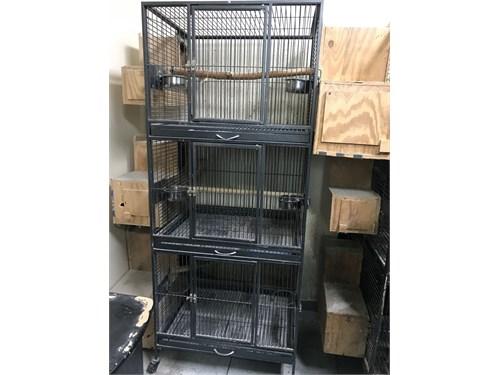 Breeding bird cage