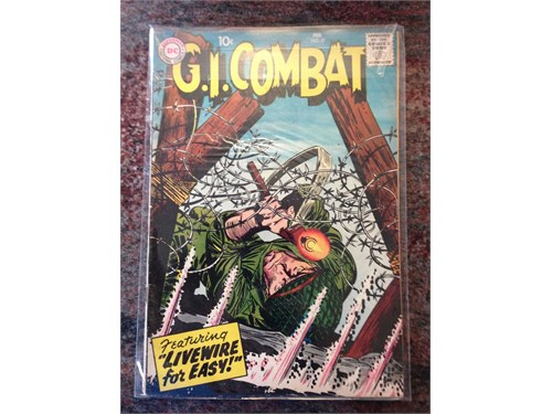 D.C. GI Combat #57, 1958