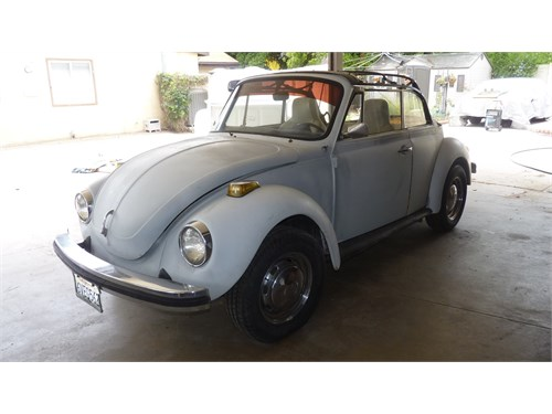 1978 VW Super Beetle cabr