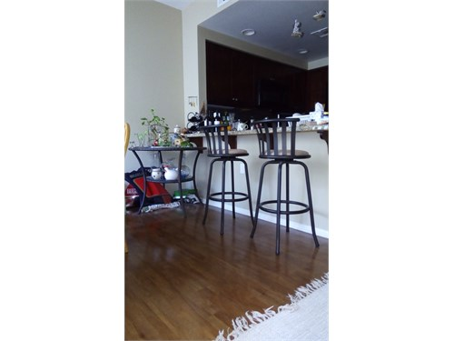 (2)  Dining high chairs