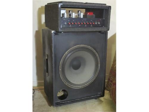 """Custom amp & 18""""-Bottom"""