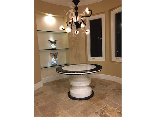 Custom Made Stone Tables
