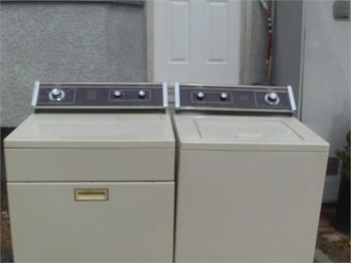 whirpool washer gas dryer