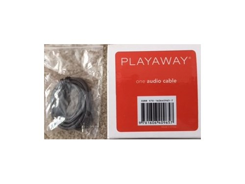 Playaway Audio Cable