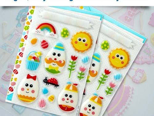 Puffy Stickers Printing