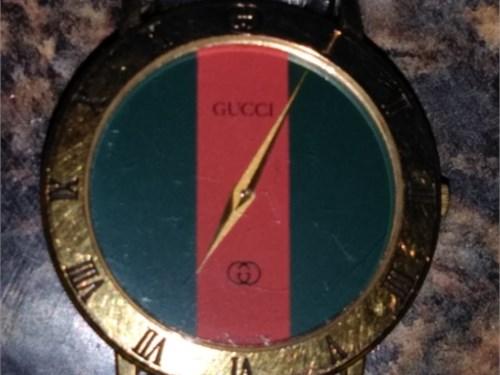 Authentic  vinGucci watch