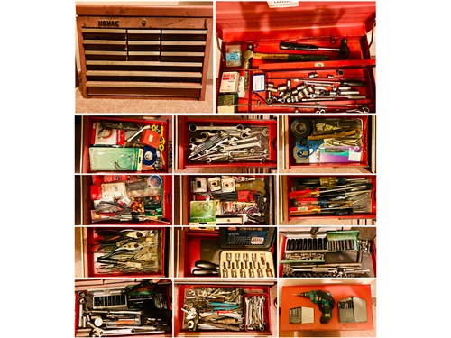 TOOLS & BOX FOR SALE