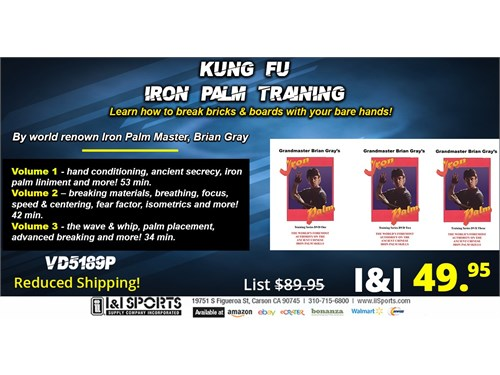 Kung Fu Iron Palm DVD Set