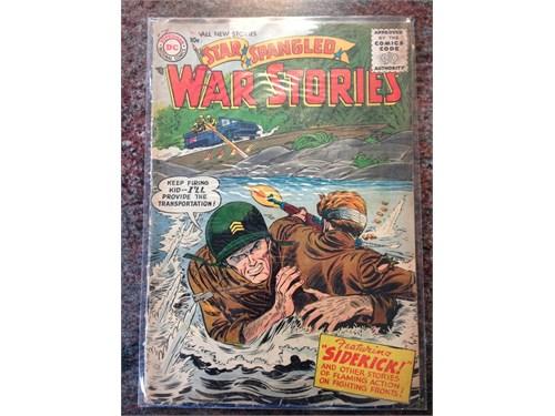 D.C. SSWS #47, 1956 Comic