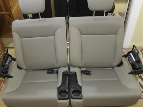 Honda Element  rear seats